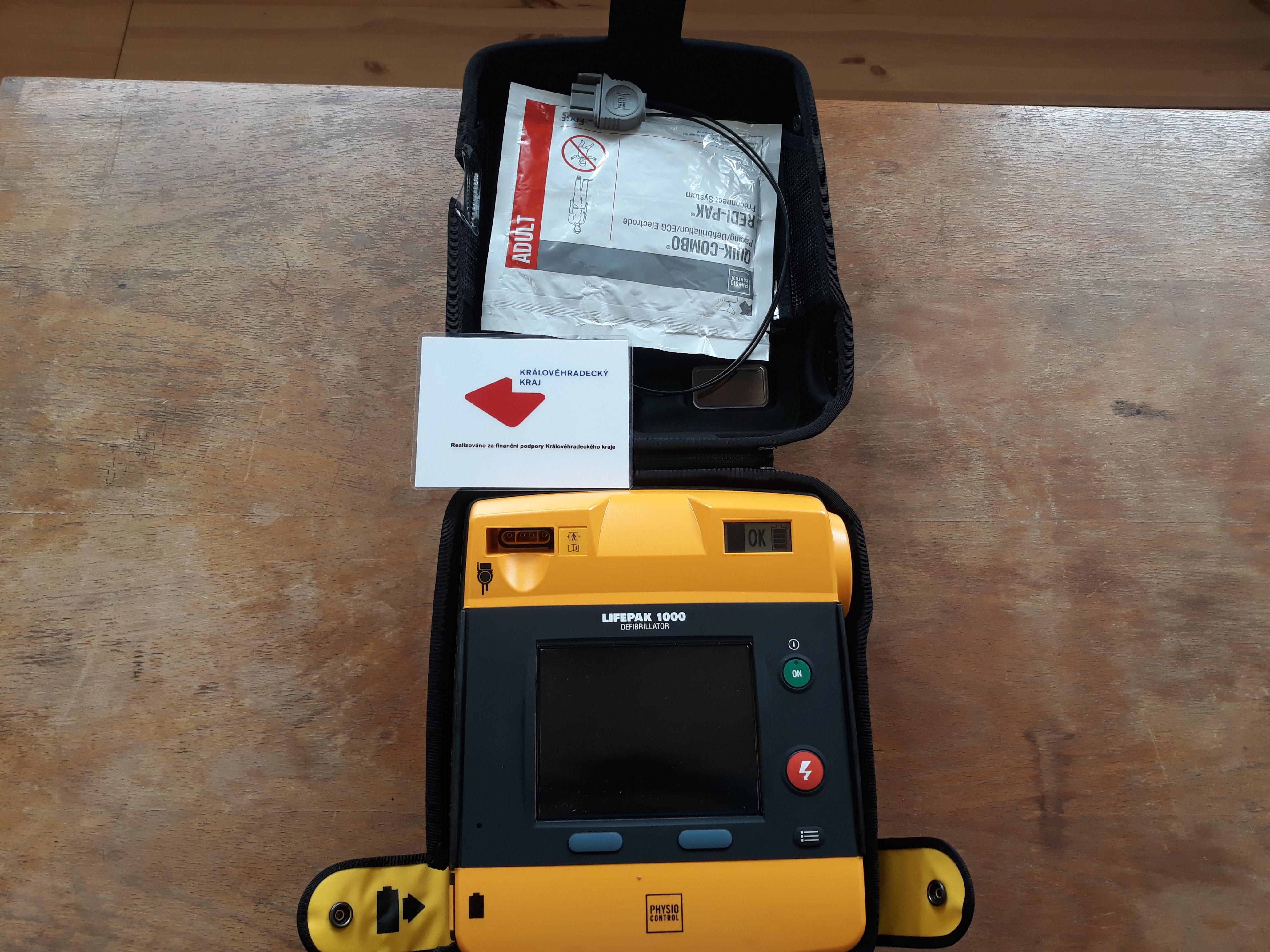 AED pro JSDH Lhoty u Potštejna