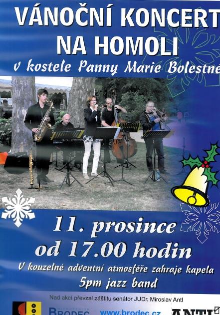 Vánoční koncert na Homoli